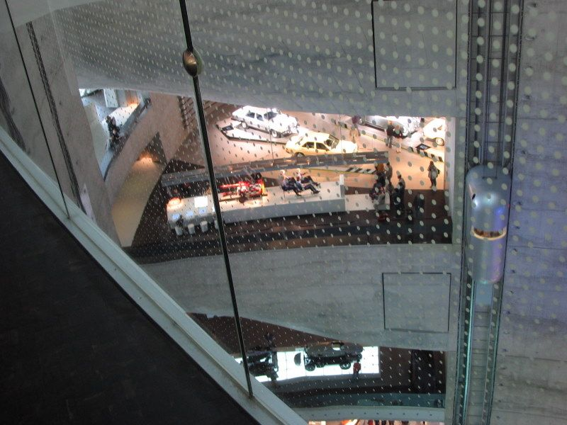 Architektur des Mercedes-Benz Museums